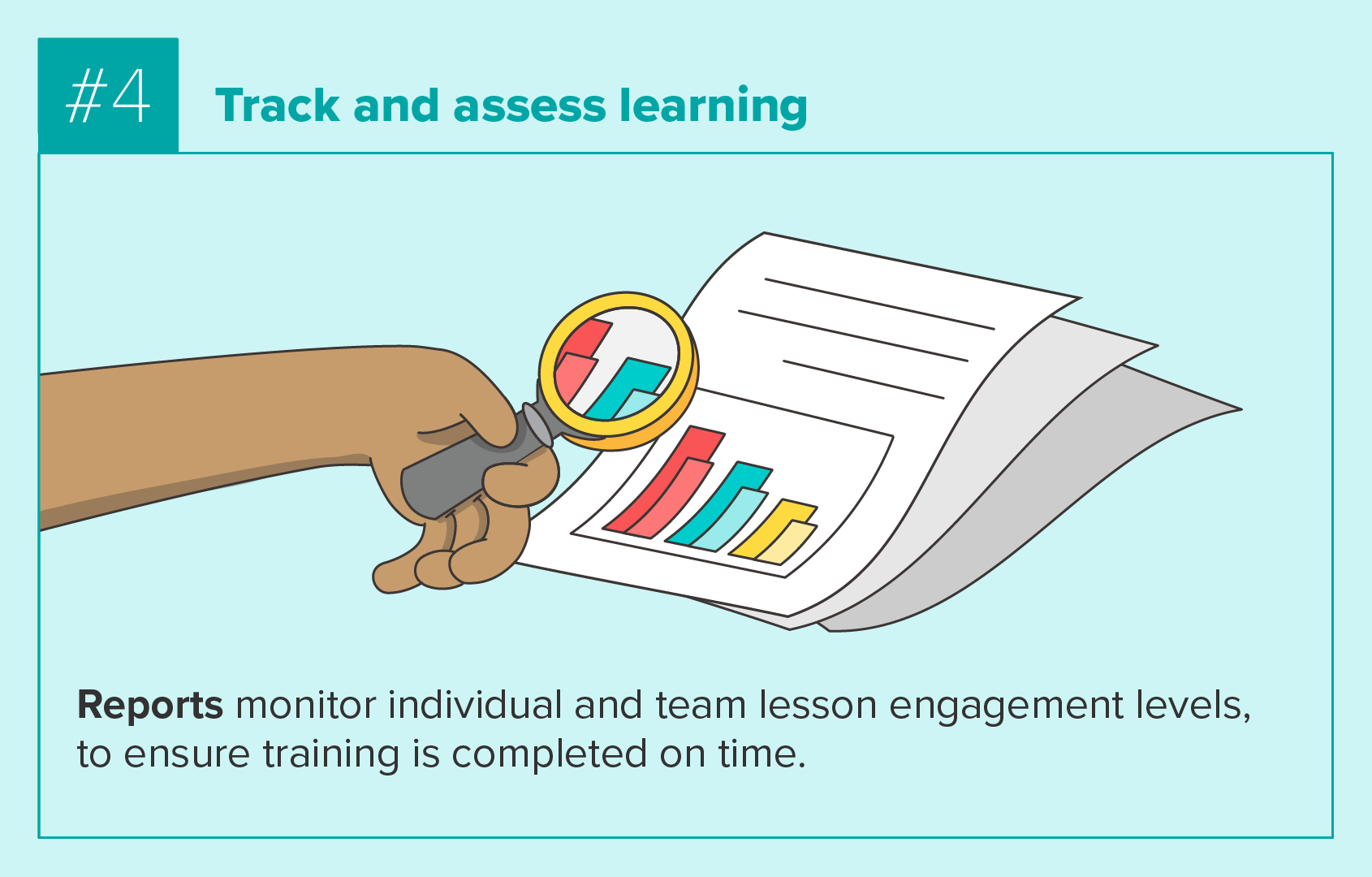 Tracking and assessing learning