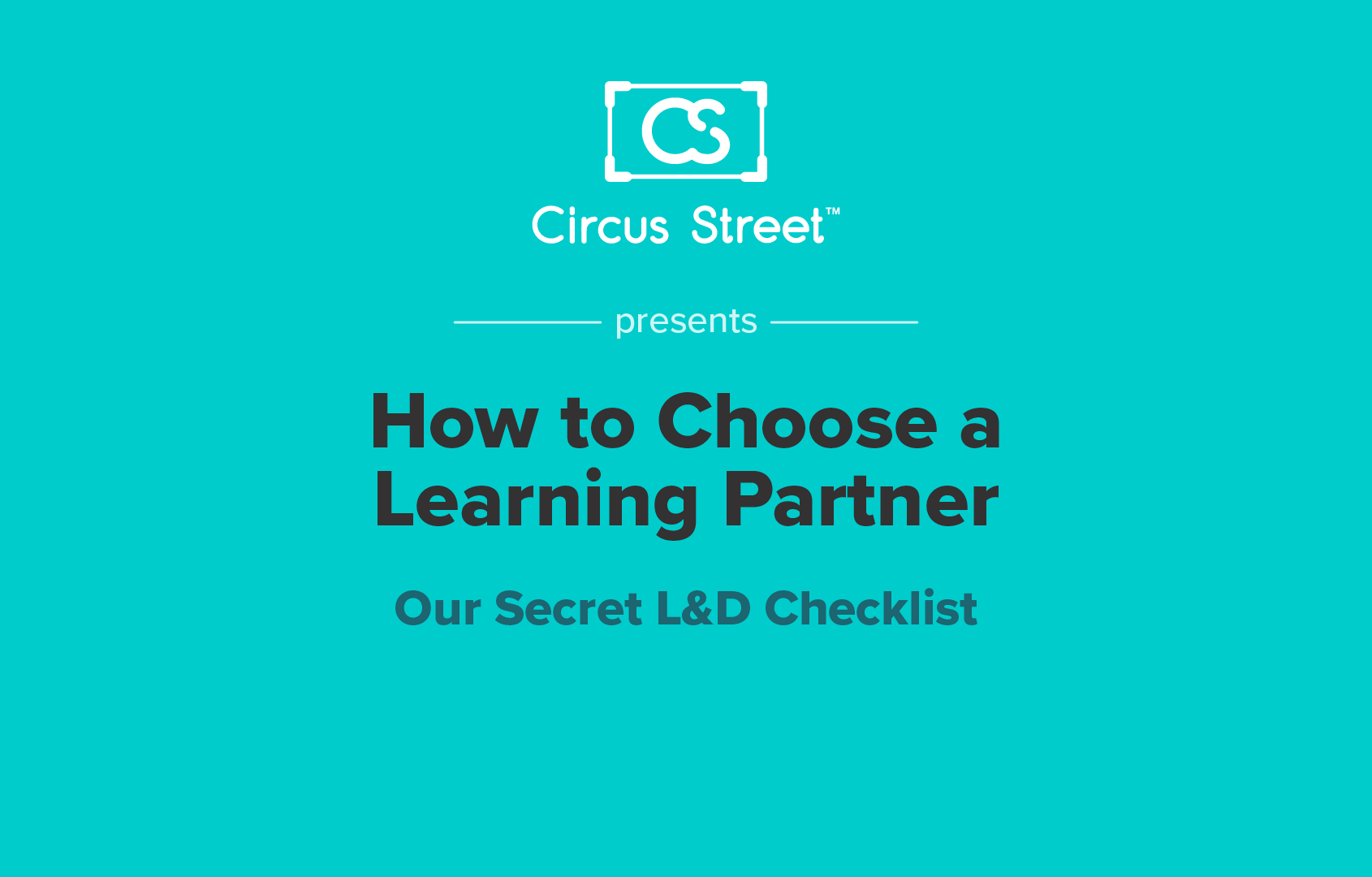 How to Choose a Learning Partner