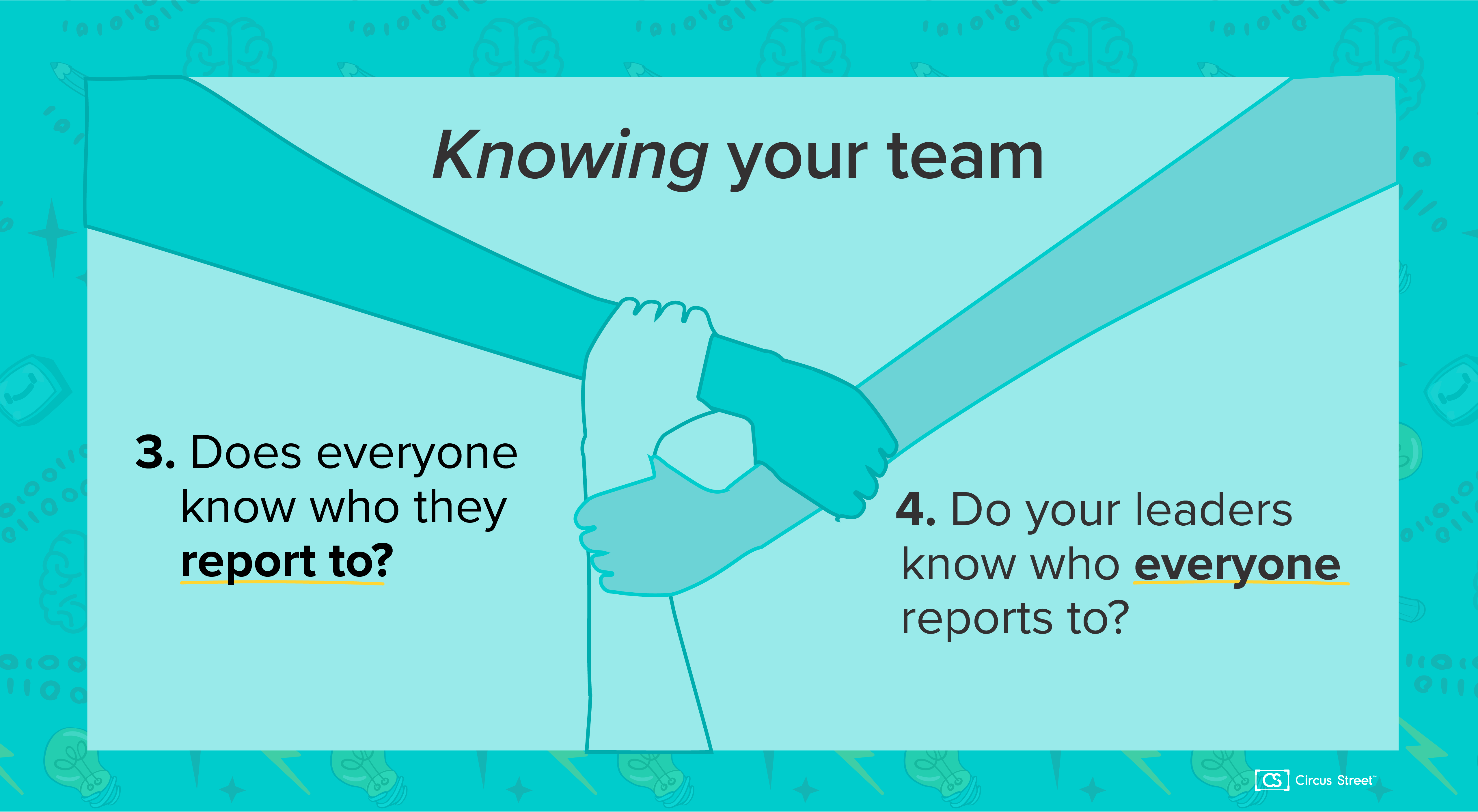 Knowing your team