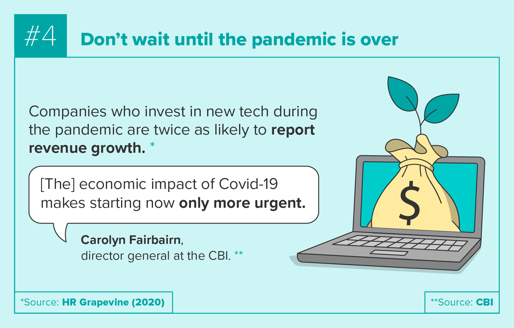 Don't wait until the pandemic is over