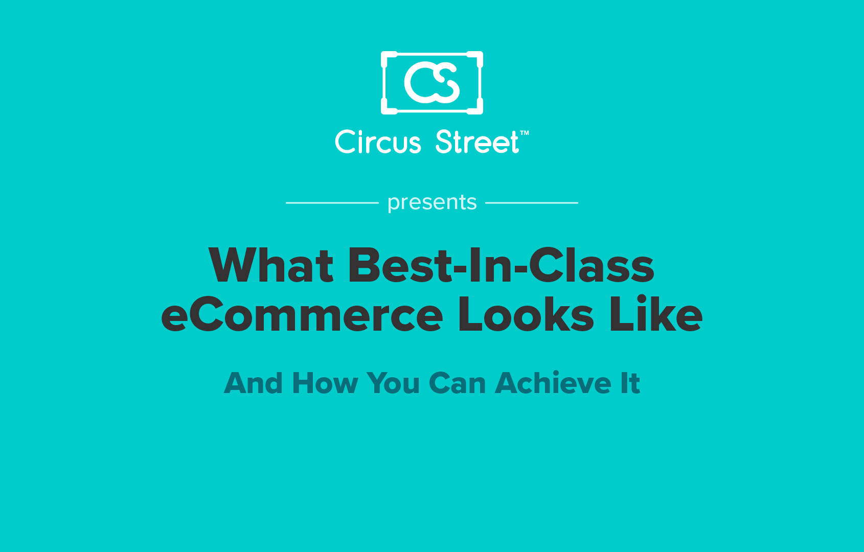 What Best-In-Class eCommerce Looks Like